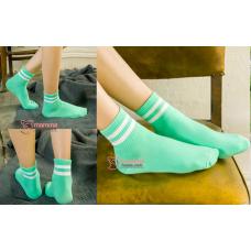 Confinement Sock - Stripe Green
