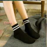 Confinement Sock - Stripe Black