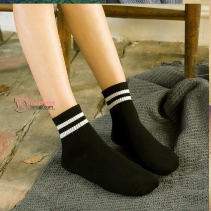 Confinement Sock - Stripe Black