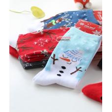 Mamma Sock - X'mas White Snowman