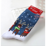 Mamma Sock - X'mas Dark Blue Deer