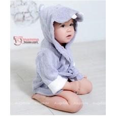 Baby Bathrobe - Cute Hipo