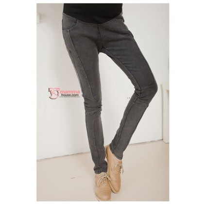Maternity Pants - Cool Line Black