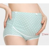 Maternity Panties - Ive Lace Green Blue