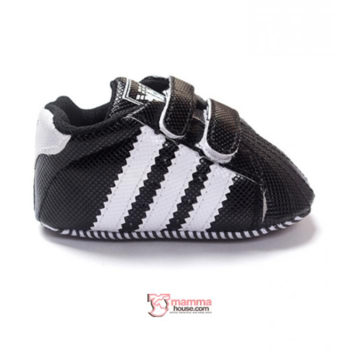 Baby Shoes - Adidas Black