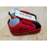 Baby Shoes - Guess Black Red