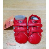 Baby Shoes - Addi Shine Red