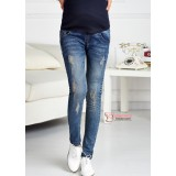 Maternity Jeans - Pocket Y Style Blue