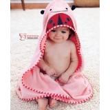 Baby Towel - Pink Bug
