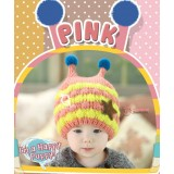 Baby Hat - Cute Knitted Bee Pink