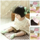 Baby Socks - Korean Fold Mixed (5 colors)