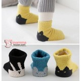 Baby Socks - Korean Cute Heel (3 colors)