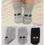 Baby Socks - Korean Golden Kitten (2 colors)
