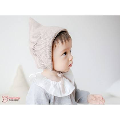 Baby Hat - Knitted 2 colors