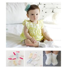 Baby Socks - Korean Cotton Soft (5 colors)