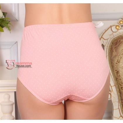 Maternity Panties - Polka Pink