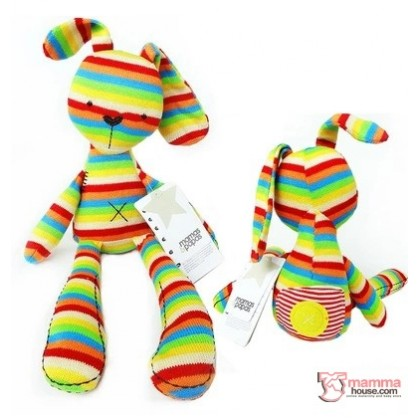 Baby Soft Toy - Bunny Colorful