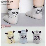 Baby Socks - Korean Back Ear (3 colors)