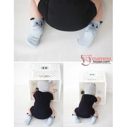 Baby Socks - Korean Back Ear (3 colors)