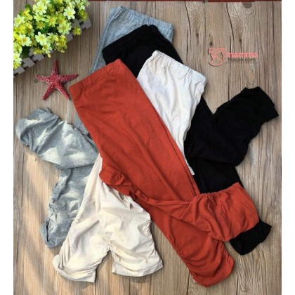Maternity Capri Legging - 4 colors