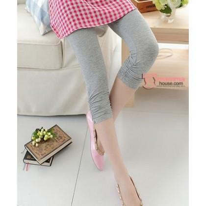 Capri Legging - Light Grey