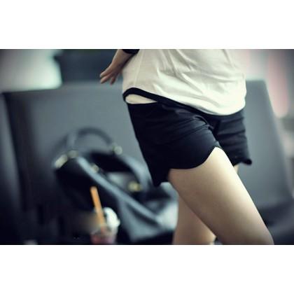 Maternity Shorts - wave black