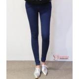 Maternity Jeans - Dark Blue Tri Pocket