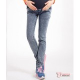 Maternity Jeans - Olive Grey