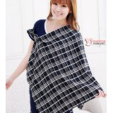 Nursing Cover Sheet - Bear Grid Black