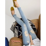 Maternity Jeans - Mill Light Blue