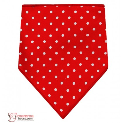 Baby Bib - Korean Cotton Star or Polka (4 designs)
