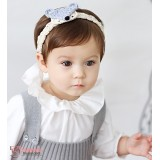 Baby Headband - Wolf Grey headband