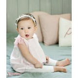 Baby Hose - Pure Knitted White