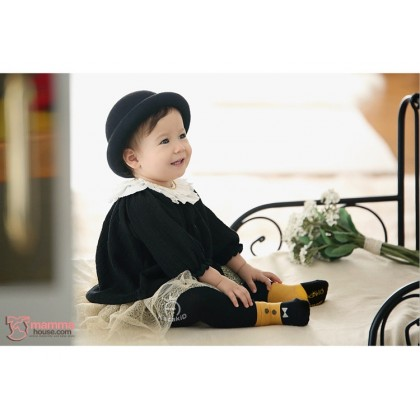 Baby Hose - Pure Knitted Black