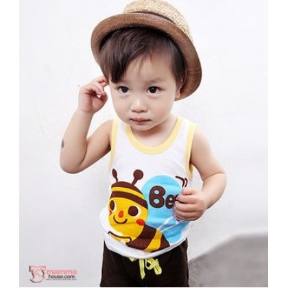 Baby Singlet - Bee Yellow
