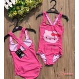 Baby Swimming Suit - Kitty Pink