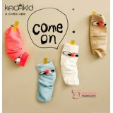 Baby Socks - Korean Back Nose (4 colors)