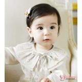 Baby Detachable Collar - Star Beige