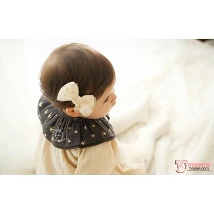 Baby Detachable Collar - Star Dark Brown