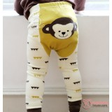 Baby Hose Set - Korean Monkey Yellow