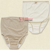 Maternity Panties - JP Panties Polka Brown or Brown Stripe