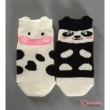 Baby Socks - Korean Moo or Panda