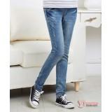 Maternity Jeans - Jade Pocket Light Blue