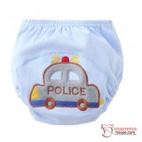 Baby Japanese Training Pants - Cotton Police