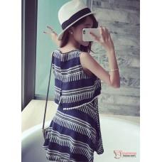 Nursing Dress - Linen Cotton White or Dark Blue