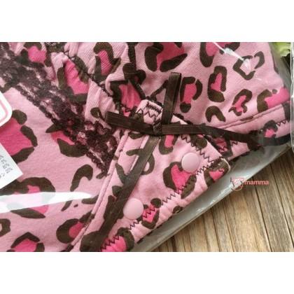 T Nursing Bra - JP Leopard Pink
