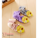 Baby Socks - Korean 2 hole (3 pairs set) - Girl