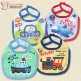 Baby Bib - JP Cars or Plane (4 different design)