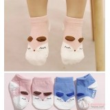 Baby Socks - Korean Boat Wolf (2 colors)