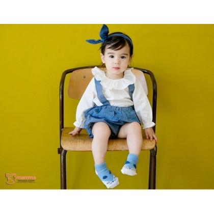 Baby Socks - Korean Boat Wolf (2 colors)
